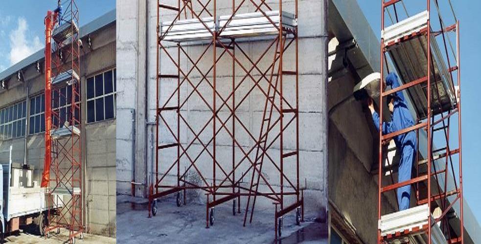 Mario Orlando scaffold tower