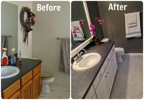 BudgetFriendly DIY Bathroom Updates WallEbuilders - Bathroom updates on a budget